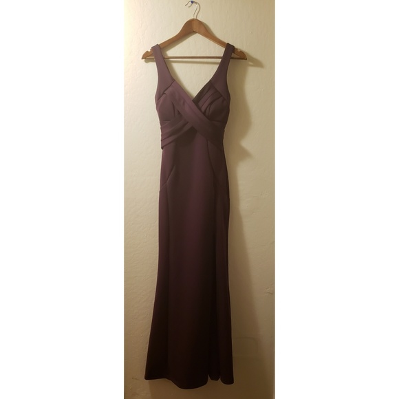 Windsor Dresses & Skirts - Purple floor length dress with slit